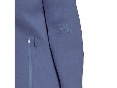 adidas Damen Sportswear Z.N.E. Hoodie – Große Größen Blau