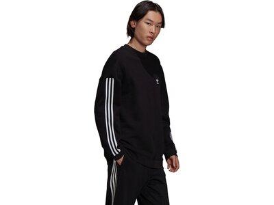 adidas Herren adicolor Classics Lock-Up Trefoil Sweatshirt Schwarz