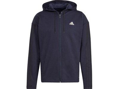adidas Herren Sportswear Ribbed Insert Trainingsanzug Blau