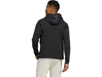 adidas Herren Yoga Hoodie Grau