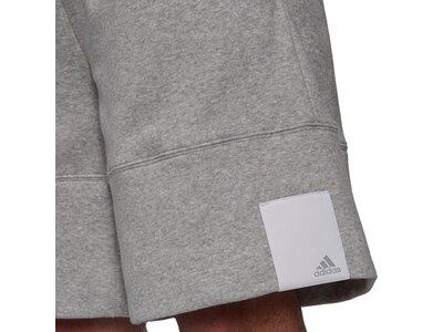 adidas Herren Sportswear Comfy and Chill Fleece Shorts Grau
