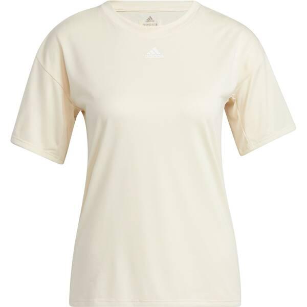 adidas Damen Training 3-Streifen AEROREADY T-Shirt