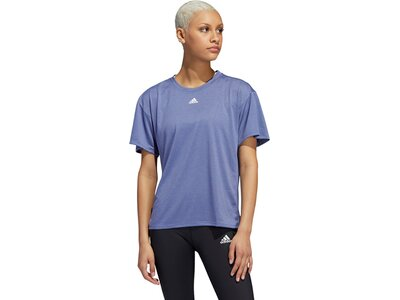adidas Damen Training 3-Streifen AEROREADY T-Shirt Grün
