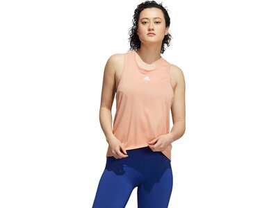 adidas Damen Training 3-Streifen AEROREADY Tanktop Pink