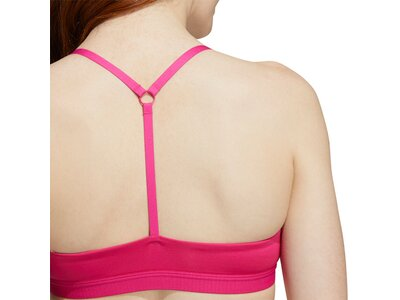 adidas Damen All Me Light Support Training Sport-BH Pink