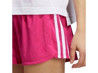 adidas Damen Pacer 3-Streifen Woven Shorts Pink
