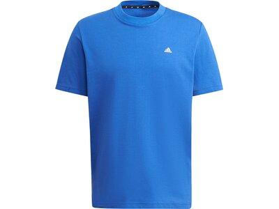 adidas Herren Sportswear Comfy and Chill T-Shirt Blau