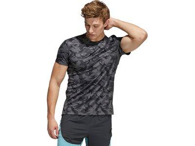 adidas Herren Camo Everyday T-Shirt Grau