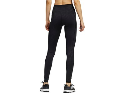 adidas Damen Believe This Primegreen Camo lange Tight Schwarz