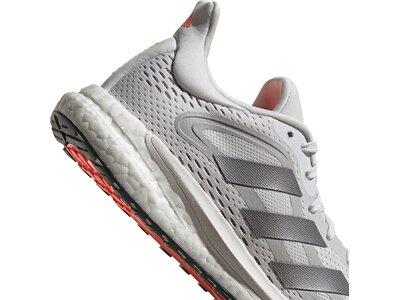 adidas Damen SolarGlide 4 ST Laufschuh Grau