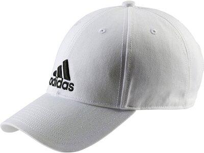 ADIDAS Herren CAP 6P COTTON Weiß