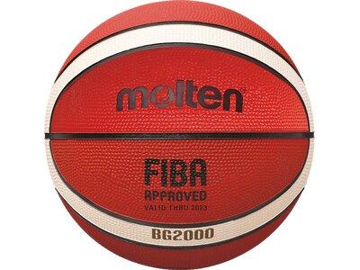 MOLTEN Basketball B6G2000 Braun