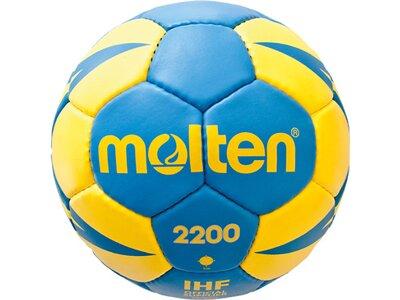 MOLTEN Handball H1X2200-BY Blau