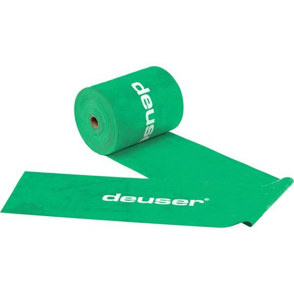 Deuser Physio Band 150 - 25,00 m grün/leicht