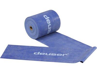 Deuser Physio Band 150 - 25,00 m blau/stark blau