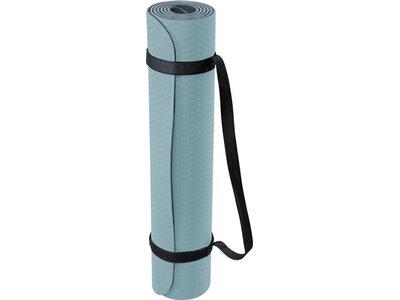 DEUSER Yoga-Matte (TPE) - mint/grau Grau