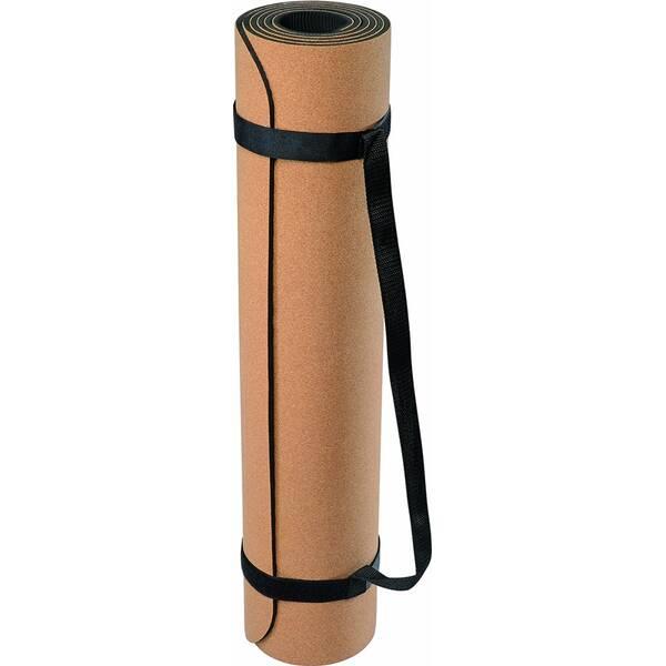 DEUSER Yoga-Matte (TPE) - kork/grau