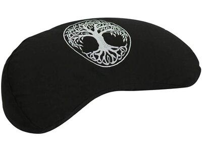 DEUSER Yoga Mondkissen - schwarz Schwarz