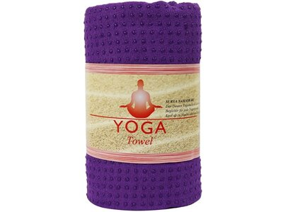 DEUSER Yogatuch - violett Rot