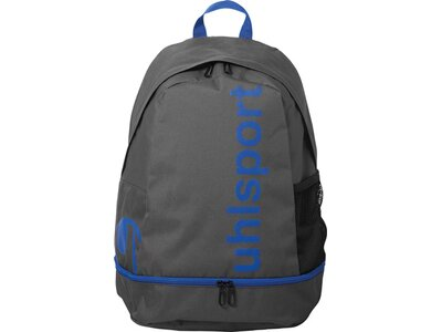 UHLSPORT ESSENTIAL BACKPACK W. BOTT. COMPARTM. Blau