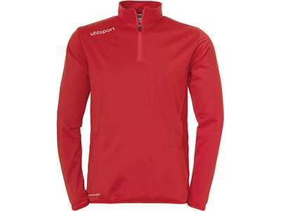 UHLSPORT Herren Sweatshirt Essential 1/4 Zip Top Rot