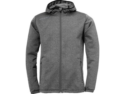 UHLSPORT ESSENTIAL FLEECEJACKE Grau