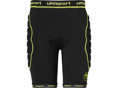 UHLSPORT Fußball - Teamsport Textil - Torwarthosen Bionikframe Padded Short TW-Hose Schwarz