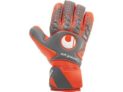 UHLSPORT Equipment - Torwarthandschuhe Soft HN Comp TW-Handschuh Grau