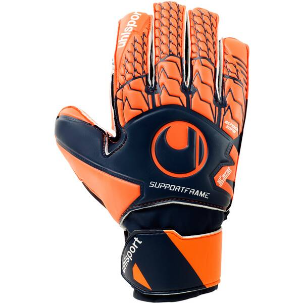 UHLSPORT Kinder Torwarthandschuhe NEXT LEVEL SOFT SF | Accessoires > Handschuhe | Dunkelblau - Rot | Pu | UHLSPORT