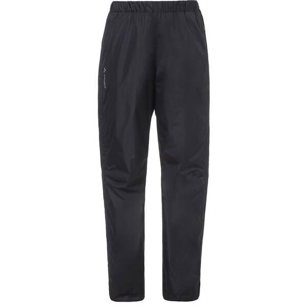VAUDE Damen Regenhose Women's Fluid Full-Zip | Sportbekleidung > Sporthosen > Regenhosen | Black | Vaude