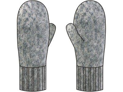 VAUDE Handschuhe Himalaya Mitten Grau