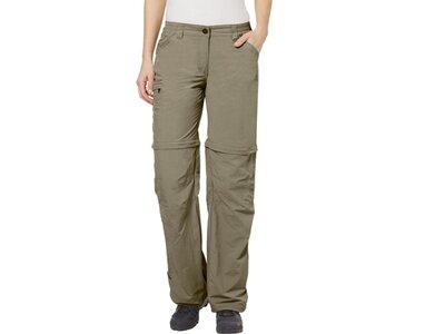 VAUDE Damen Hose Women's Farley ZO Pants IV Braun