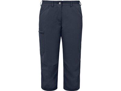 VAUDE Damen Hose Women's Farley Capri Pants IV Grau