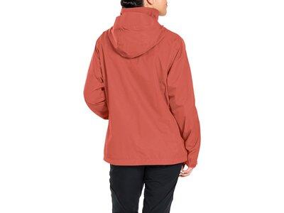 VAUDE Damen Escape Light Jacket Rot