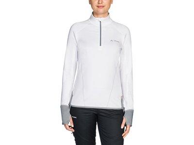 VAUDE Damen Pullover Women's Livigno Halfzip Weiß