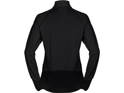 VAUDE Damen Pullover Women's Livigno Halfzip Schwarz