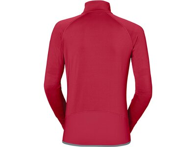 VAUDE Damen Pullover Women's Livigno Halfzip Rot