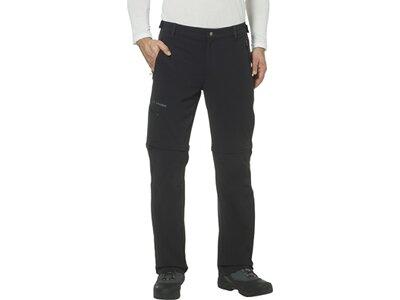 """VAUDE Herren Wanderhose / Trekkinghose / Zipp-Off-Hose """"Farley Stretch T-Zip Pants II"""" Schwarz"""