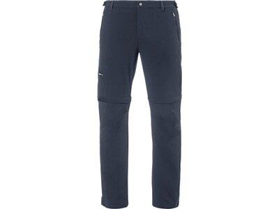 "VAUDE Herren Wanderhose / Trekkinghose / Zipp-Off-Hose ""Farley Stretch T-Zip Pants II"" Grau"