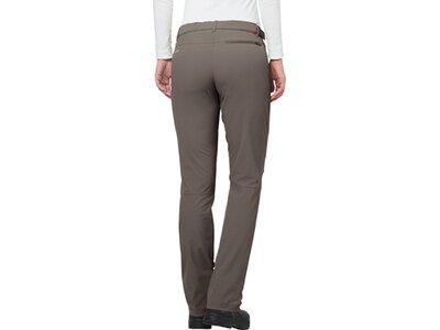 """VAUDE Damen Outdoorhose """"Farley Stretch Pants II"""" Braun"""