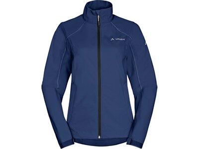 VAUDE Damen Jacke Hurricane Jacket III Blau