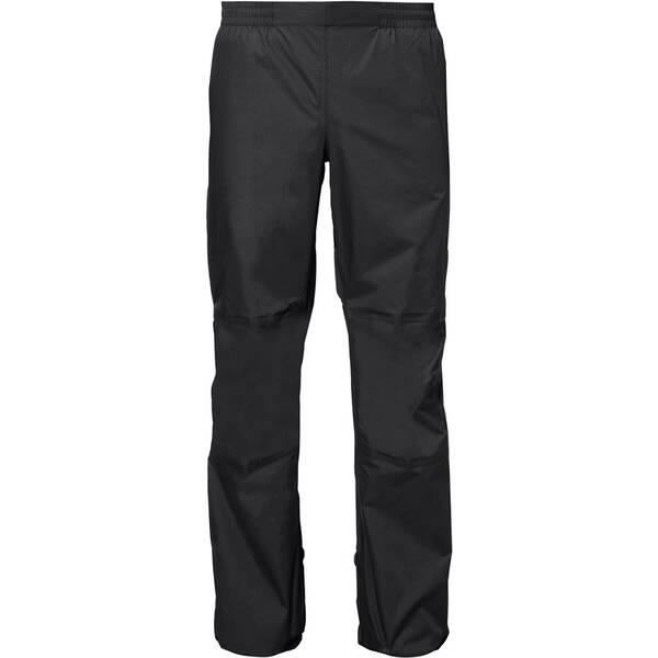 VAUDE Herren Rad-Regenhose Drop Pants II Short Size | Sportbekleidung > Sporthosen > Regenhosen | Black | VAUDE