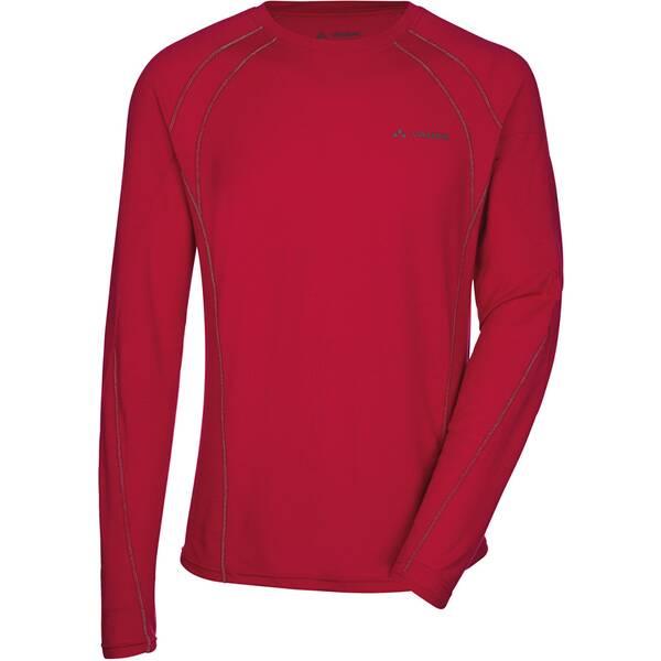 VAUDE Herren T-Shirt Men's Signpost LS Shirt Rot