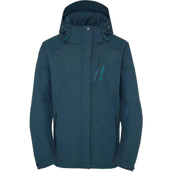 VAUDE Damen Funktionsjacke Furnas Jacket II Blau