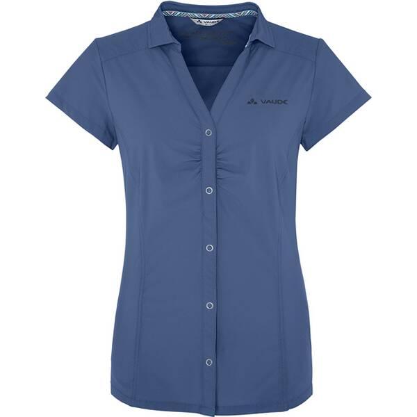 VAUDE Damen Trekkingbluse Skomer Shirt Kurzarm