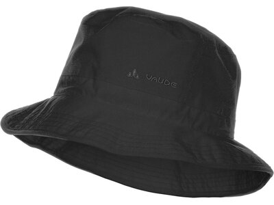 VAUDE Hut Escape Rain Hat Schwarz