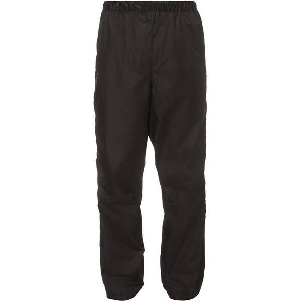VAUDE Herren Regenhose Men´s Fluid Full-zip II | Sportbekleidung > Sporthosen > Regenhosen | Black | VAUDE