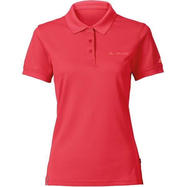 VAUDE Damen T-Shirt Women's Marwick Polo Shirt II Rot