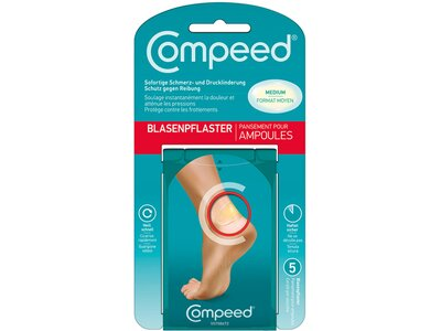 VAUDE Pflaster Compeed Medium (VPE12) Pink