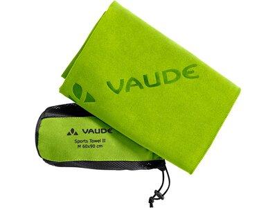 VAUDE Handtuecher Sports Towel II L Grün